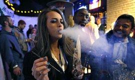 Oslavy legalizace marihuany v Denveru