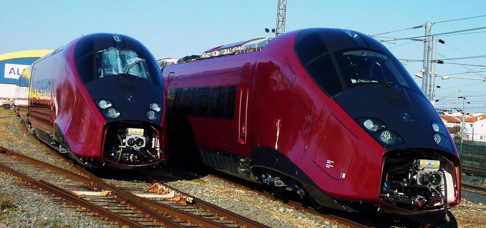 Rychlovlaky Alstom
