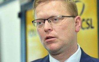 Pavel Bělobrádek na předsednictvu zopakoval, že dá svou funkci předsedy KDU-ČSL k dispozici