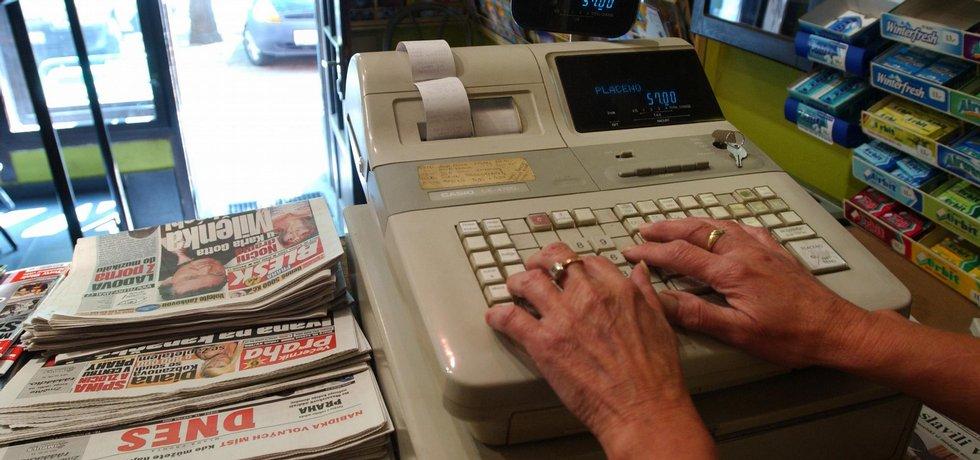Registrační pokladna, ilustrační foto