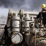 Těžba ropy v Iráku, ilustrační foto