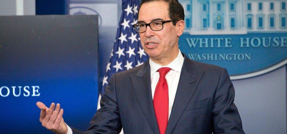 Americký ministr financí Steven Mnuchin