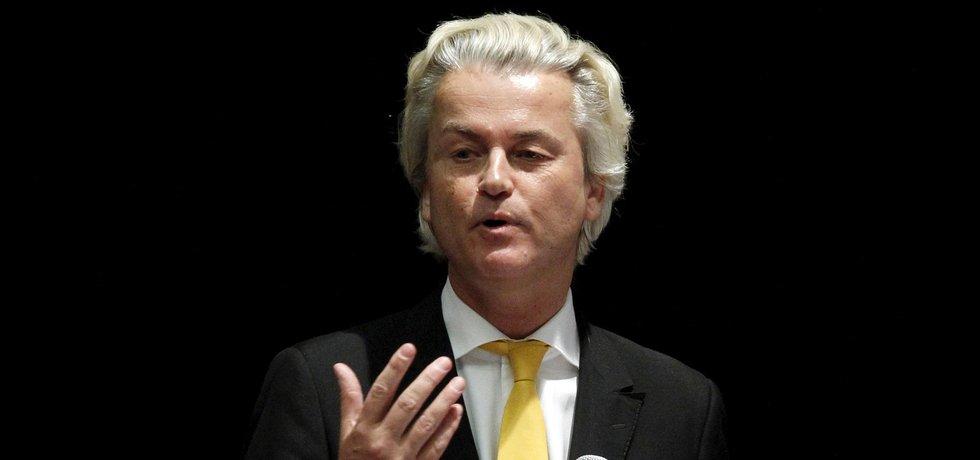 Nizozemský populistický politik Geert Wilders