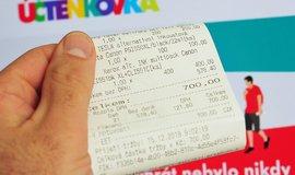Počet výher v účtenkové loterii stoupne nad 30 tisíc. Celková hodnota se ale nezvýší
