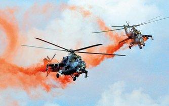 Dosluhující vrtulníky Mi-24/35