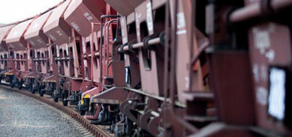 Nákladní vlak - ilustrační foto
