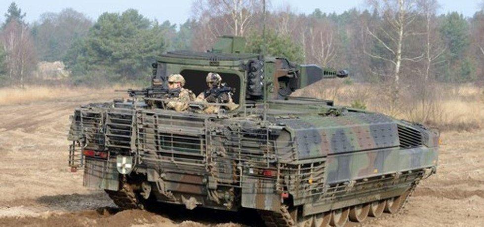 Výhodou vozidla Puma je fakt, že se na jeho vývoji podílel Bundeswehr