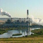 Uhelná elektrárna v USA
