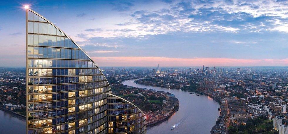 Nejvyšší rezidenční budovu v Západní Evropě by v Londýně měla postavit čínská Greenland Group.