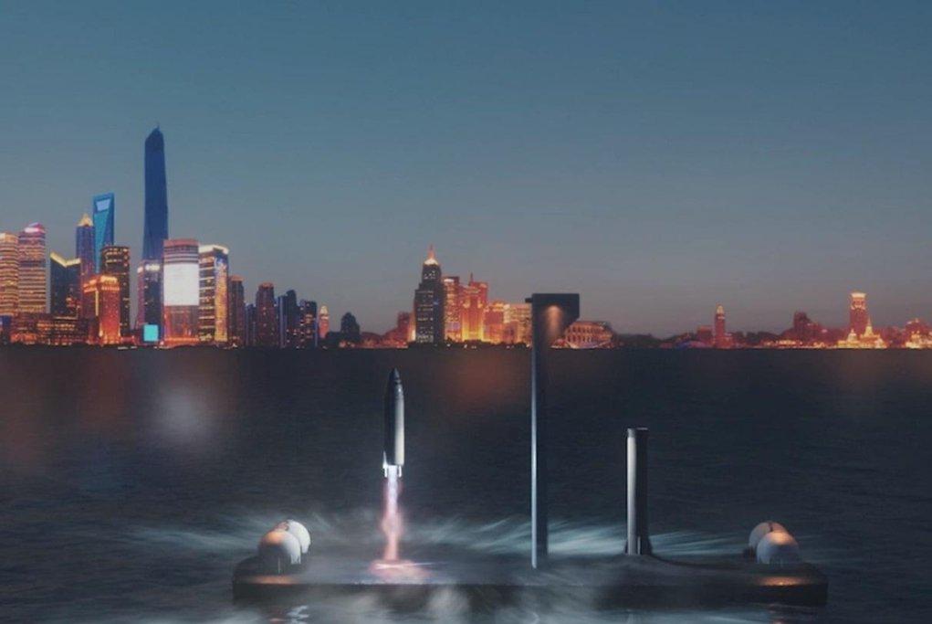 SpaceX a její raketa Big Falcon Rocket má sloužit v dopravě okolo Země.
