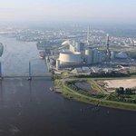 Hamburská uhelná elektrárna Moorburg koncernu Vattenfall