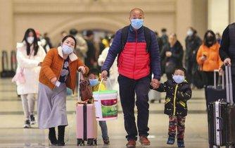 Cestující v Číně, ilustrační foto