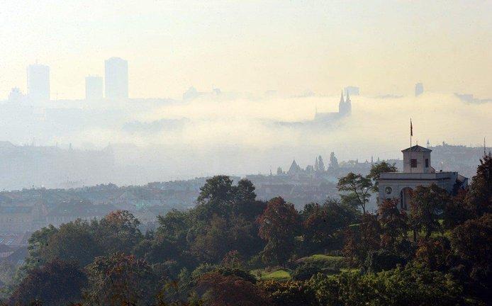 Smog v Praze - ilustrační foto