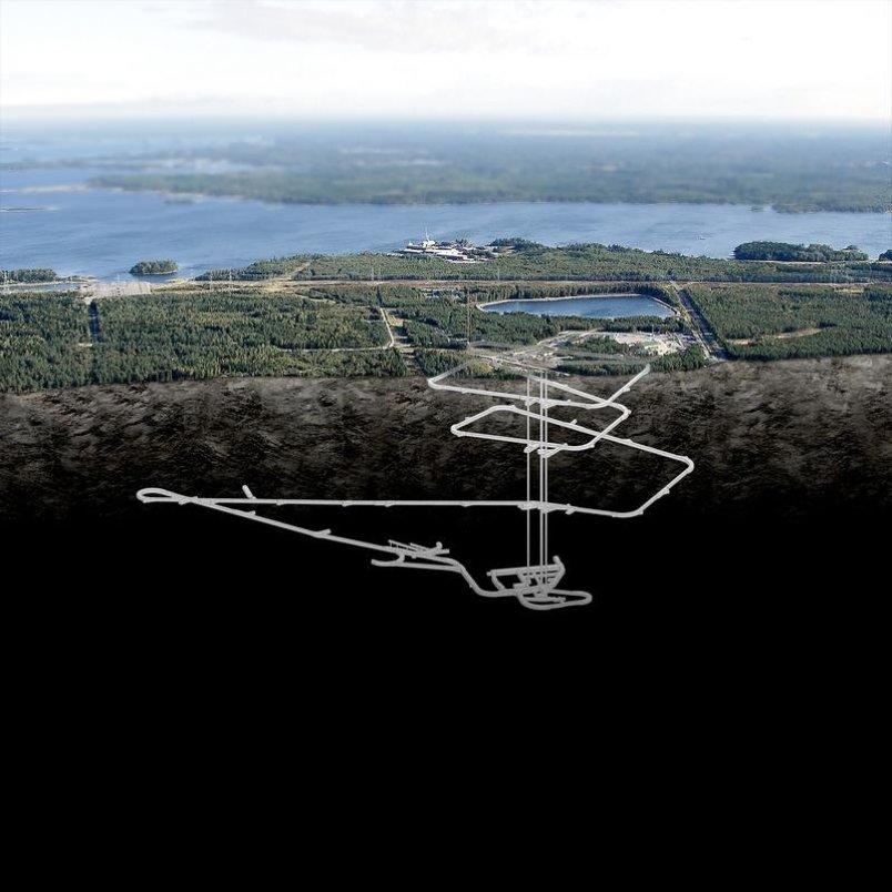 Plán finského trvalého úložiště jaderného odpadu