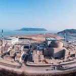 Největší energetický čínsko-francouzský projekt. Jaderná elektrárna Taišan leží na pobřeží Jihočínského moře.