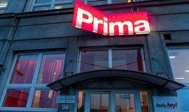 Budova televize Prima na pražské Palmovce