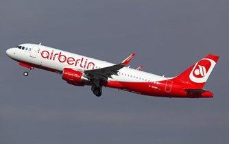 Airbus společnosti Air Berlin, ilustrační foto