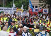 stávka, demonstrace