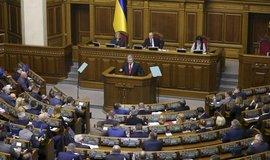 Ukrajinský parlament schválil zavedení válečného stavu