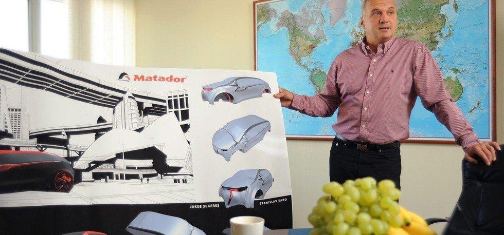 Štefan Rosina, šéf Matadoru, na snímku z roku 2013