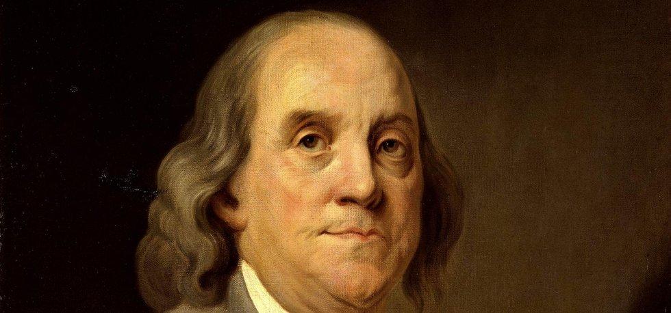 Benjamin Franklin první z amerických self-made manů
