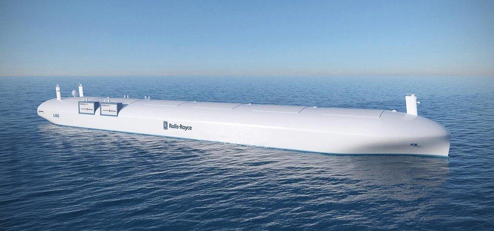 Nákladní loď Rolls-Royce (Zdroj: Rolls-Royce)