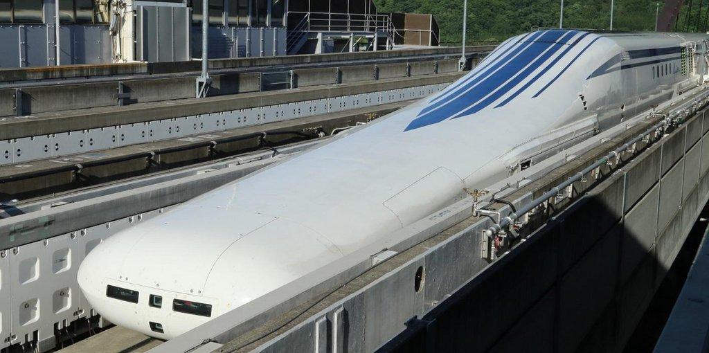Magnetický vlak SCMaglev.