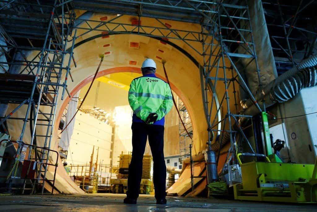 Reaktor Arevy ve finském Flamanville