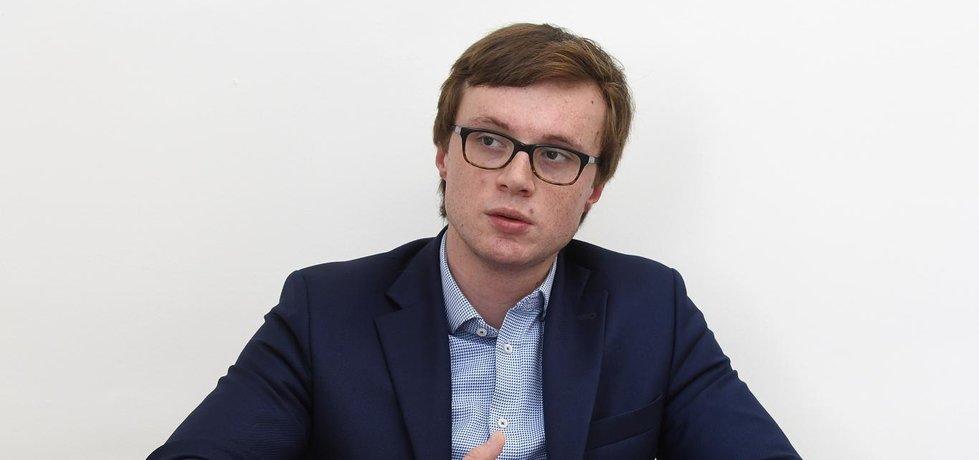 Státní tajemník pro EU Aleš Chmelař