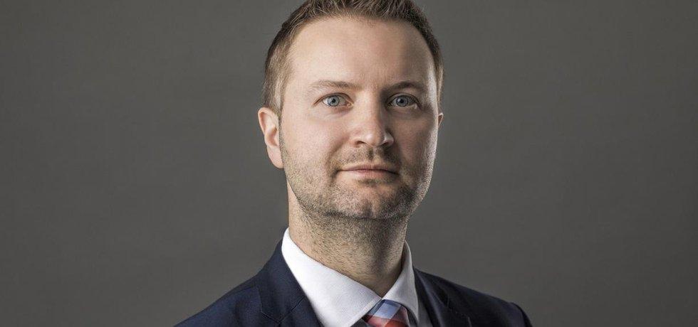 Předseda představenstva Unipetrolu Tomasz Wiatrak