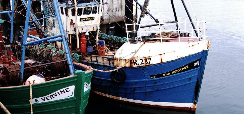 Rybolov, jeden z pilířů skotské ekonomiky
