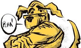 Ilustrace k eseji Zmrzačený hlídací pes