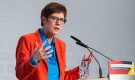 Nová šéfka CDU Annegret Krampová-Karrenbauerová