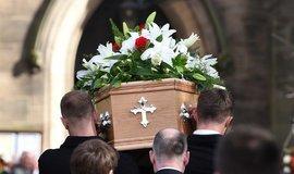 Pohřeb, ilustrační foto