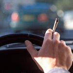 Marihuana za volantem - ilustrační foto