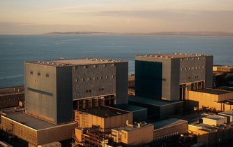 Stávající jaderná elektrárna Hinkley Point
