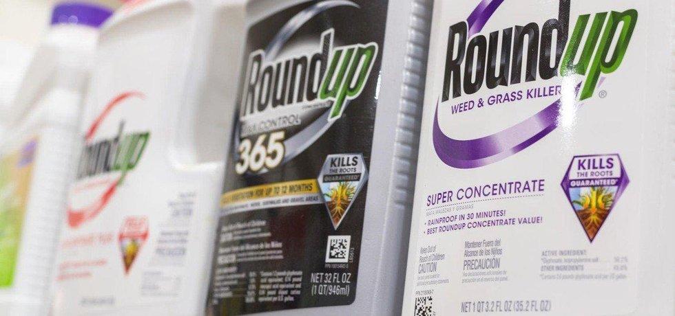 Populární herbicid Roundup