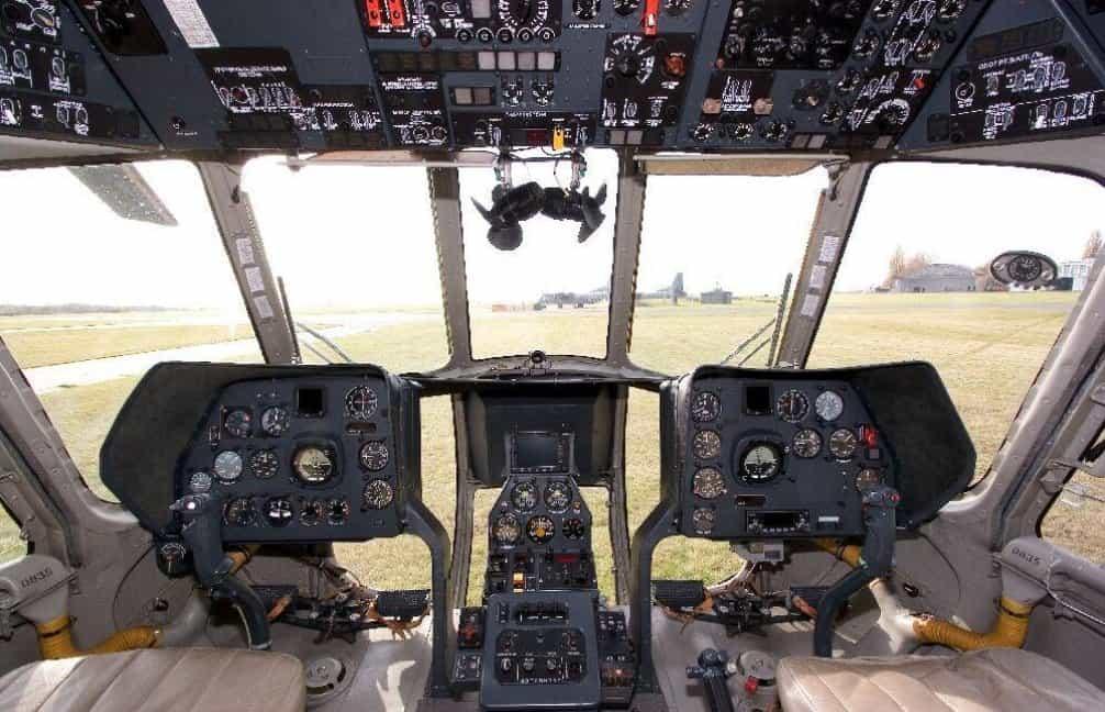 Kokpit Mi-8