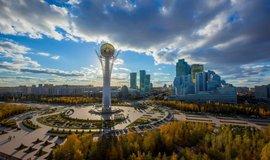Astana, hlavní město Kazachstánu