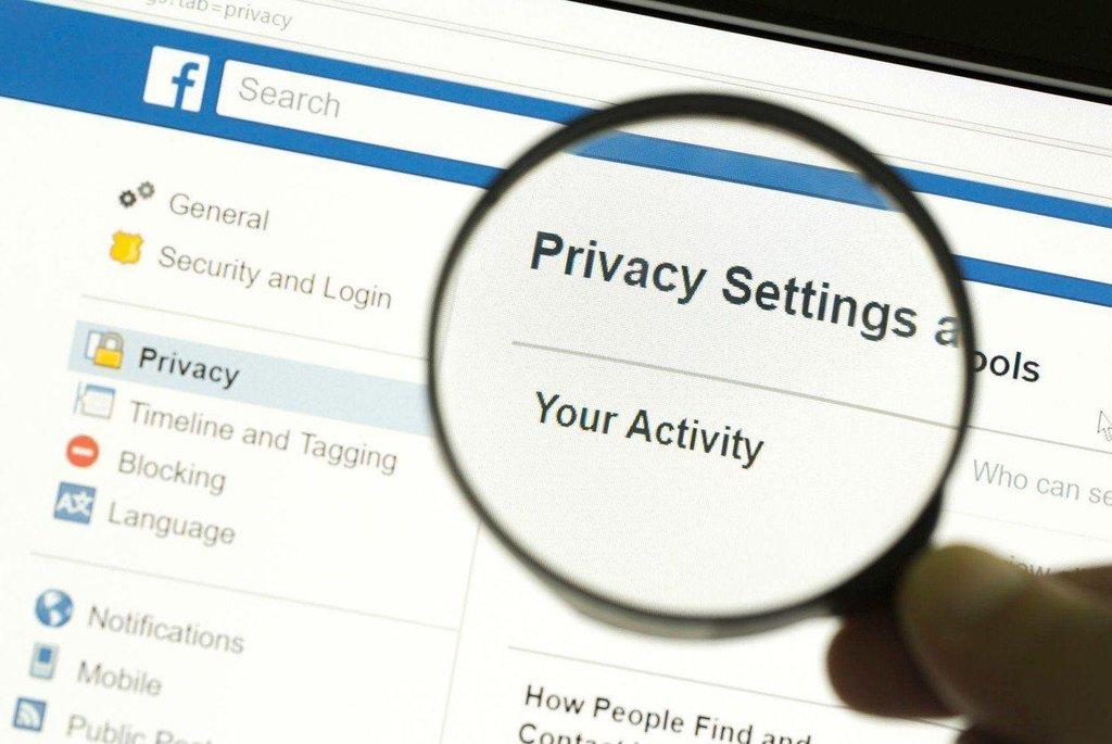 Facebook a ochrana dat, ilustrační foto