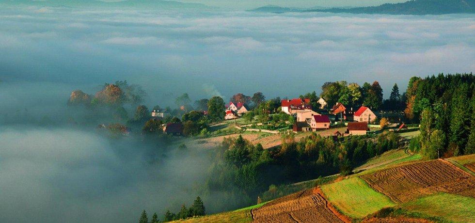Vesnice Hrčava