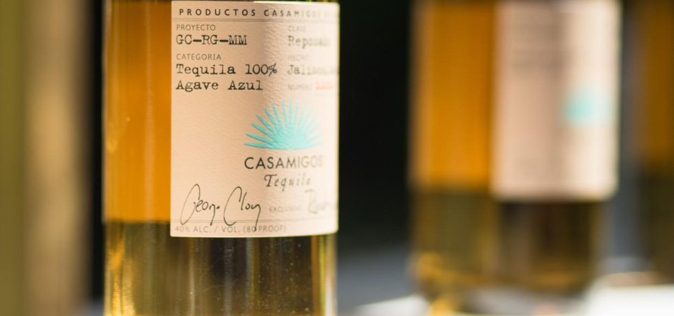 Tequila Casamigos od hollywoodského herce George Clooneyho