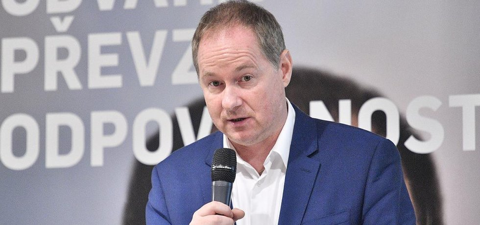 Předseda hnutí STAN Petr Gazdík