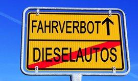 Zákaz dieselových aut, ilustrační foto