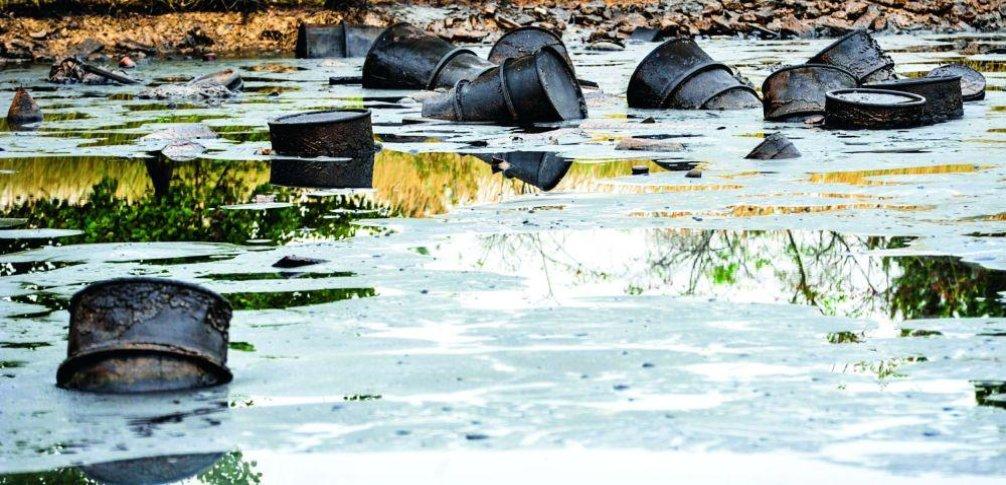 Ekologická zátěž, ilustrační foto