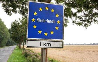 Nizozemsko - hranice