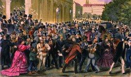 Den soudu na vídeňské burze