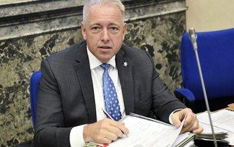 Ministr vnitra Milan Chovanec