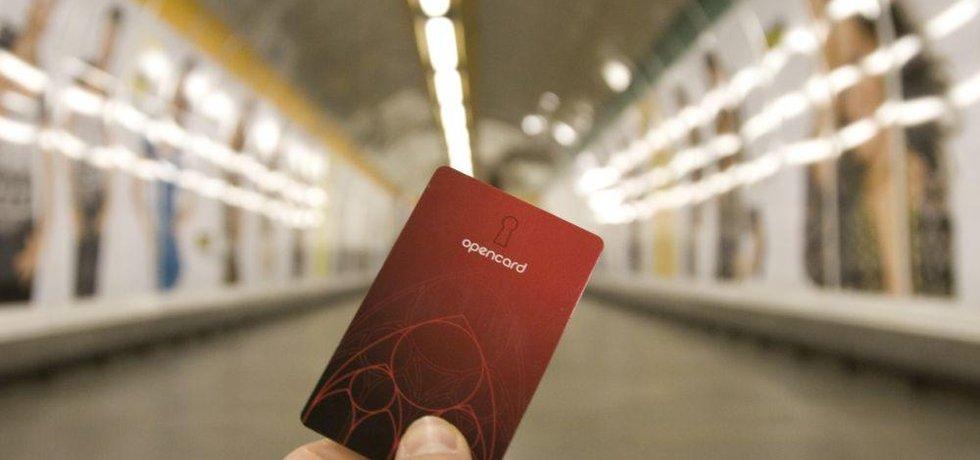 Karta opencard, ilustrační foto