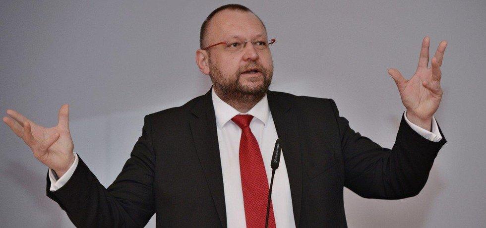Místopředseda lidovců Jan Bartošek